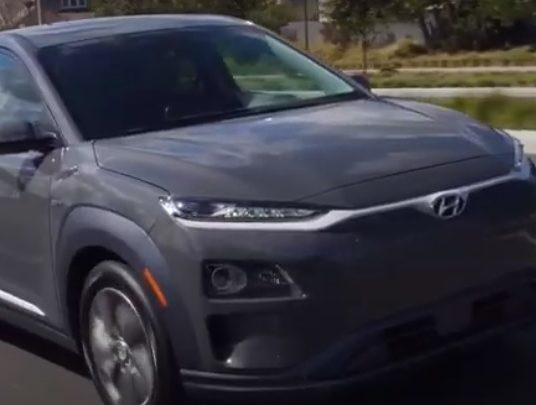 Best Green Vehicle Under $50,000: Hyundai Kona Electric